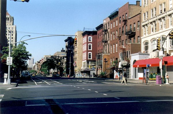 14th Street and 2nd Avenue, looking downtonwn