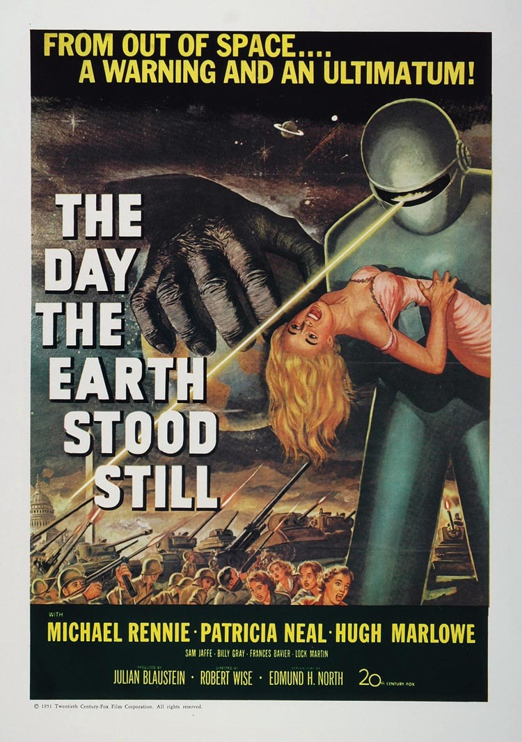 poster the day the earth stood still � the bernard